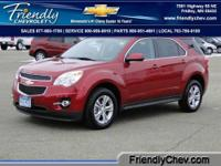 This 2013 Equinox 2LT has less than 1k miles!!! All