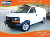 2013 White Chevrolet Express G1500 AWD For Sale in