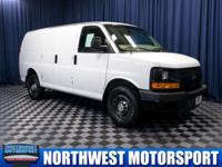 Clean Carfax One Owner Cargo Van with Towing Package!
