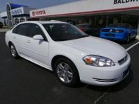 Come see this 2013 Chevrolet Impala LT. This Impala