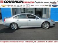 This Silver Ice Metallic, 2013 Chevrolet Impala is in