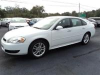 13 Impala LTZ, White with Charcoal Leather! Auto