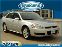 Get away in this 2013 Chevrolet Impala LTZ and