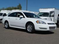 Impala LS, GM Certified, and 4D Sedan. All the right