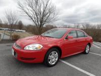 CLEAN CARFAX, Great MPG. 2013 Chevrolet Impala LT 4D