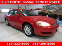 Red 2013 Chevrolet Impala LT FWD 6-Speed Automatic