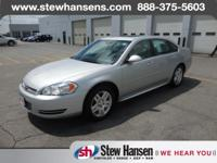 CLEAN CARFAX. Impala LT, 6 Speakers, Air Conditioning,