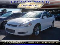 Options:  2013 Chevrolet Impala Lt|Lt Fleet 4Dr