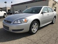 2013 CHEVROLET IMPALA LT FLEET. FOUR DOOR. EXTERIOR