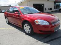 Options:  2013 Chevrolet Impala 4D Sedan Lt|Red|Abs