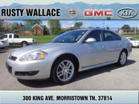 Settle in comfortably in this 2013 Chevrolet Impala.