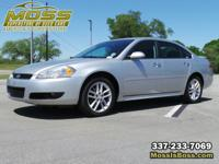 Clean CARFAX. Silver Ice Metallic 2013 Chevrolet Impala
