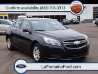 One Owner Clean, Clean Carfax, and One Owner. Malibu LS