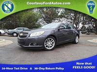 This Malibu is equipped with Heated Leather Seats,