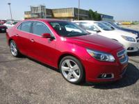 You gotta see this awesome Crystal Red 2013 Chevrolet