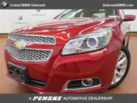 ======: This 2013 Chevrolet Malibu LTZ Sedan has a