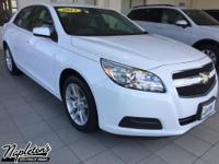 Recent Arrival! 2013 Chevrolet Malibu in Summit White,