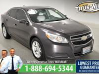 Completely inspected and reconditioned, 2013 Chevrolet