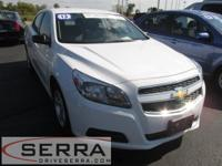 2013 CHEVROLET MALIBU LS, GM CERTIFIED, ONE OWNER,