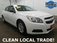 CLEAN CARFAX, LOCAL TRADE-IN, BLUETOOTH, and 3-MONTHS