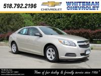 Our 2013 Chevrolet Malibu LS is bold in Champagne