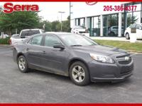 2013 Chevrolet Malibu LS 1LS FWD 6-Speed Automatic
