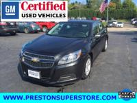 Options:  2013 Chevrolet Malibu Ls|Black|*Just