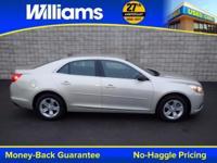 Options:  2013 Chevrolet Malibu Ls|Silver|Clean Vehicle