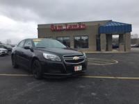 2013 Chevrolet Malibu LS in Black vehicle highlights