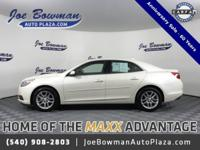 New Price! Clean CARFAX. 2013 Chevrolet Malibu LT 1LT