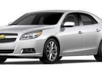 CARFAX One-Owner. Clean CARFAX. 2013 Chevrolet Malibu