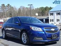 Blue Topaz Metallic 2013 Chevrolet Malibu LT 1LT *Power
