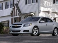 Options:  Pre-Owned 2013 Chevrolet Malibu Lt|Silver Ice