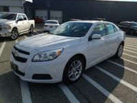 This outstanding example of a 2013 Chevrolet Malibu LT