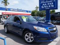 Options:  2013 Chevrolet Malibu Lt|Blue|**99 Point