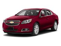 GM Certified! LT Package! Four Cylinder Engine! Power