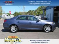 This 2013 Chevrolet Malibu LT in is well equipped with:
