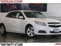 Options:  2013 Chevrolet Malibu Lt 4D Sedan|Power