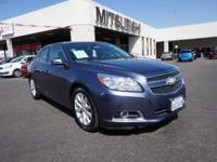 This 2013 Chevrolet Malibu LT includes dual climate