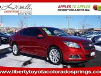 LT trim. CARFAX 1-Owner, ONLY 29,429 Miles! FUEL