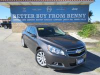 This New 2013ChevroletMalibu3LT is well Equipped with