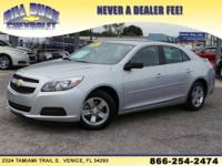 2013 CHEVROLET MALIBU SEDAN 4 DOOR LS Our Location is: