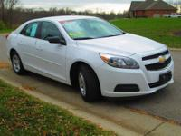 2013 Chevrolet Malibu LS FWD in Summit White with Jet