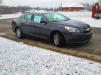 One owner! 2013 Chevrolet Malibu LS sedan in Taupe Gray