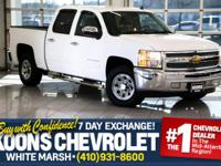 **CREW CAB**4.8L V8**LEATHER SEATS** Great '13