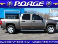 Chevrolet CERTIFIED! Won't last long!! 4 Wheel Drive,