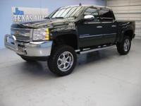 LT PACKAGE - 4X4 - CREW CAB - LIFTED - LEATHER SEATS -