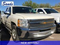 Clean CARFAX. White Diamond Tricoat 2013 Chevrolet