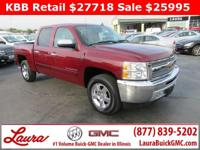 1-Owner New Vehicle Trade! LT 5.3 V8 Crew Cab RWD.