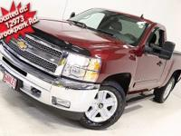 Clean CARFAX. Deep Ruby Metallic 2013 Chevrolet